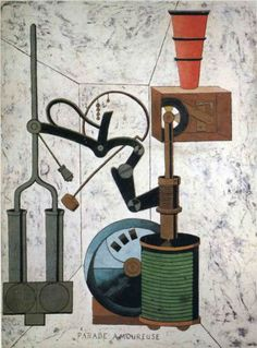 Francis Picabia (French:1879 – 1953) - Love Parade - 1917 - Dada