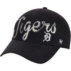 6fb3de76697 Women s Detroit Tigers Nike Heather Gray Navy Cadet 1.6 Adjustable Hat