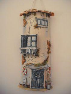 il mio Paese delle Meraviglie by Alice: decorazione delle tegole