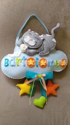Risultati immagini per fiocco nascita con gattini su pinterest
