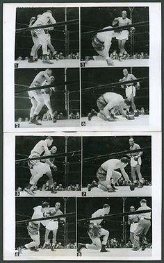 1948-Joe-Louis-vs-Jersey-Joe-Walcott-Magic-Eye-Camera-Original-Wire-Photograph