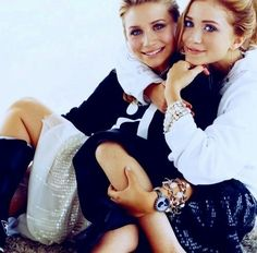 Olsen twins- I loved these girls as a child, movies, books, full house, and I had a poster in my room :)