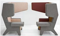Ear Chair by Jurgen Bey.  This chair was designed in order to create  a confined…