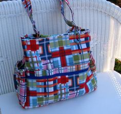 Zoey CUSTOM Handmade Diaper Bag and Changing Pad by KthysKreations, $147.00