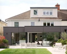 Architect and interior designer Denise O'Connor of Optimise Design has recently completed her own home renovation project and learnt a heap of lessons Dublin, Interior Architecture, Interior Design, Interior Ideas, House Extensions, Open Plan Kitchen, Open Plan Living, Sliding Glass Door, Design Firms