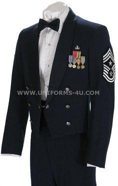 Air Force Dress Blues Wedding