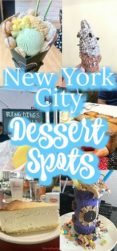 NYC Dessert Spots | Best desserts in New York City | Eating in new York | Foodie finds in NYC | Sweet spots in New York | Hidden Gems in New York | After dinner treats in New York | Buns Bar Milkshakes | Juniors Cheesecakes | Ring Ding Bar | Wowfulls | Puffy Waffle cones | Ice cream | Sweet treats