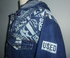 Used Jeans, a 1989 wardrobe staple.