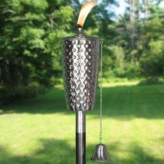 Legends Lifestyle // Dimpled Stainless Tiki Torch - $49.99