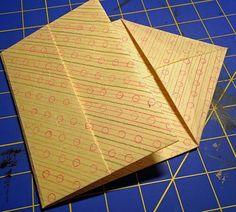 Hedi Kyle's Diagonal Pocket Folder - tutorial by Encasing Structure