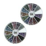 3D Crystal Bling Rhinestone Decoration Wheels 3600 pieces 12 Colors