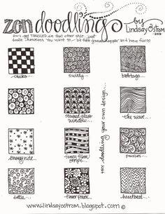 Zentangle Pattern Instructions A2-zentangle patterns