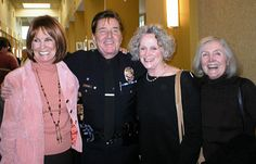 Bobby Sherman with Bridget Hanley, Susan Tolsky and Mitzi Hoag