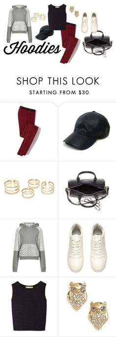 """""""(Ath)leisure At Its Finest"""" by kristenleighw ❤ liked on Polyvore featuring Icebreaker, Vianel, Yves Saint Laurent, House of Holland, H&M, Kain and Kate Spade"""