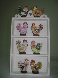 Artes Country   by Ge Galban: galinhas-Duna Atelier