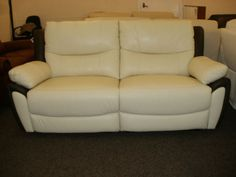 images 3 Seater Sofa, Recliners, Sofa Outlet, Leather Living Room Furniture, Sofas, Brown Leather, Lounge, Couch, Manual