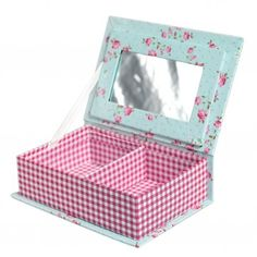 Boîte à Bijoux Fleurie - Déco • Mellow Sunday * Kids Decoration & Gifts *