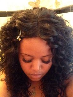 Crochet Hair For The Beach : ... about Crochet Braids on Pinterest Beach curls, Curls and Remy hair