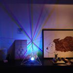 Photo by @lightmygobo   Apparemment édition 15 Harmony Art, Platonic Solid, Lights, Gallery, Instagram, Roof Rack, Lighting, Rope Lighting, Candles