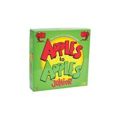 Apples To Apples Jr for when we just need a break. Mixing creative adjectives and nouns together. #AdobeEduSweeps