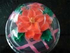 Poinsettia- Gelatina Artistica