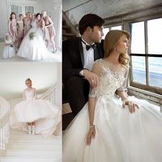 Wholesale Wedding Dresses - Buy Vintage Inspired Wedding Dress Soft Organza Detachable Illusion Jacket With Three-Quarter Length Sleeves Beaded Lace Crystal Bridal Gowns ZC, $149.79 | DHgate.com