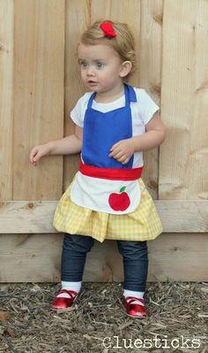 Snow White Play Aprons Gluesticks @Shannon H