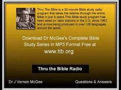 James Vernon McGee Q&A - When is the Church Raptured?