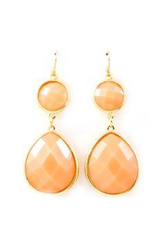 Peachy Emily Earrings | Emma Stine Jewelry Earrings