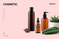 Cosmetic Mockup Pack Free Demo