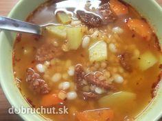 Fotorecept: Poctivá šošovicovo-fazuľová polievka