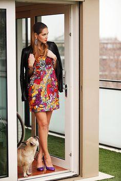 10 vestidos alegres y estivales para triunfar en la oficina inspirándote en celebs y bloggers