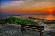 Have a sit please. Sunset is served. - null