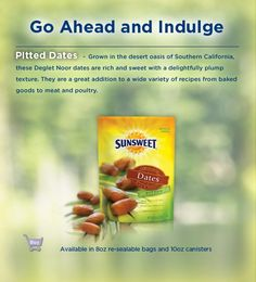 Sunsweet Specialty Fruits - Pitted Dates
