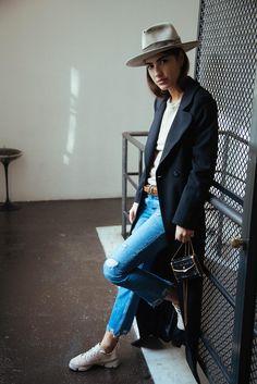 Patricia Manfield indossa le Clarks Trigenic Flex <3