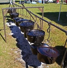 Chuck Wagon Cooking Equipment | 3rd Annual Smokin in the Oaks - CBBQAwiki