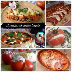 6 recetas con mucho tomate I | Cocina