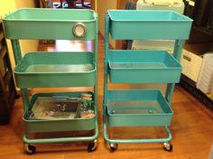 Scrapbook Organization: Ikea Raskog Cart Vs Samu0027s Club Knock Off {and One  Other