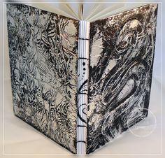 Lost im Papierladen: [Anleitung] Buchdeckel mit Aluminiumfolie beziehen