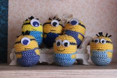 Free Crochet Minion Pattern Minions Free Crochet Pattern Free Crochet Minion Pattern Crochet Doll In Minion Costume Amigurumi Today. Baby Knitting Patterns, Diy Crochet And Knitting, Crochet Gratis, Amigurumi Patterns, Crochet Toys, Crochet Baby, Free Crochet, Minion Pattern, Crochet Dolls