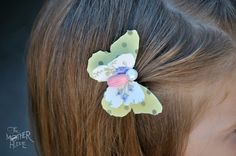 Diy Butterfly Hair accessory