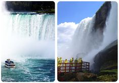 Travel Pointers & Tips! American Side vs Canadian Side: Getting close up to Niagara Falls
