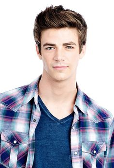 Grant Gustin - The Flash - Barry Allen - He has the best hair! And face...