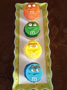 M & M Cupcakes By Eva2 on CakeCentral.com