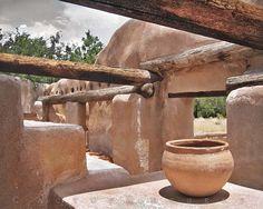 Mission Granary No. 2 - Tumacacori Spanish Mission Historic Architecture 8x10 Fine Art Photography by CactusHuggers  @sunsan #architecture #art #photography #Spanish #Mexico