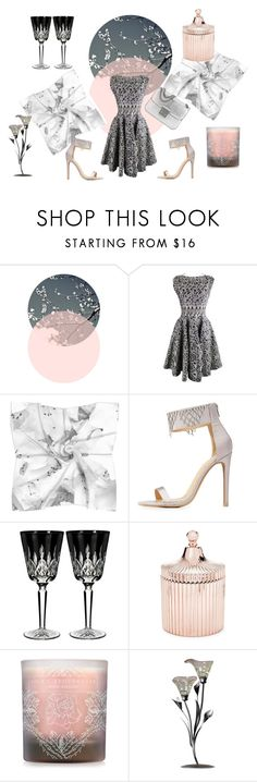 """""""A Romantic Night"""" by peppermax ❤ liked on Polyvore featuring Alaïa, Charlotte Russe, Waterford, Saks Fifth Avenue, Lola's Apothecary and Michael Kors"""