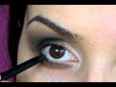 """Learn How to do a Smoky Eye Like Kim Kardashian's.  The """"Learn how to make Poor Life Decisions"""" is a separate video."""