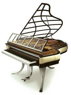 GReat Art Deco Piano Grand  http://pinterest.com/cameronpiano