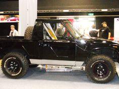 Land rover Disco based kit car England.