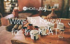Mix up your MCAT prep review to stay engaged and motivated! https://www.mcat.me/blog/ways-to-review-for-the-mcat